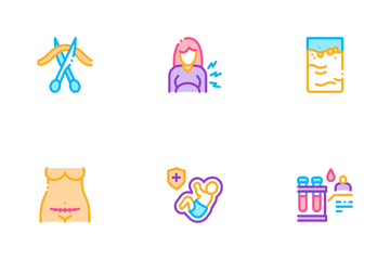 Maternity Hospital Icon Pack