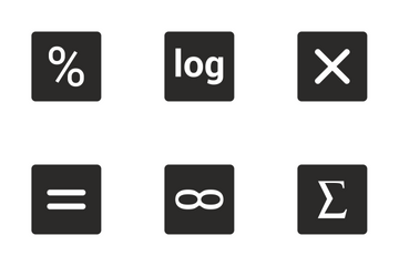 Math Functions  Icon Pack