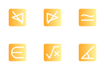 Math Symbol Icon Pack