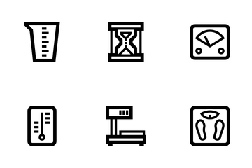 Measuring Tools Icon Pack