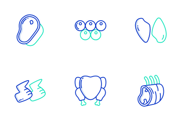 Meat Icon Pack