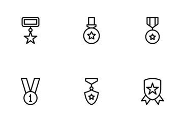 Medals & Rewards Icon Pack
