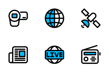 Media 1 Icon Pack