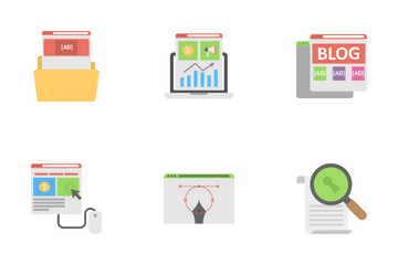 Media And Advertising Icon Pack