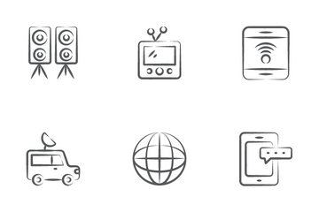 Media And Cinematography Icon Pack