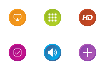 Media Buttons Icon Pack