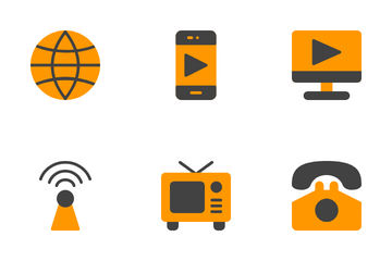 Media & Communication Icon Pack