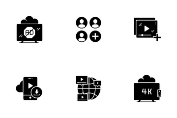 Media Service Icon Pack