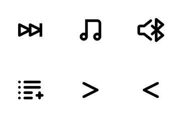 Media UI Icon Pack