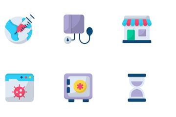 Medical And Corona Virus Icon Pack