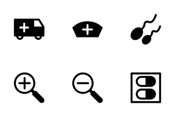Medical And Health 1 Icon Pack