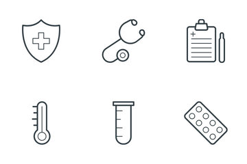 Medical And Health 3 Icon Pack