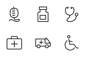 Medical And Health Vector Icons Icon Pack