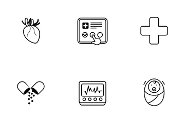 Medical And Healthcare Icon Pack