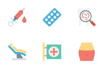 Medical And Healthcare Vol 2 Icon Pack
