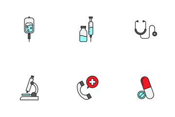 Medical And Healthy Icon Pack
