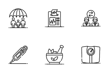 Medical And Lab Equipment Icon Pack