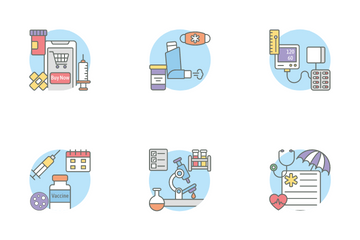 Medical And Therapy Icon Pack