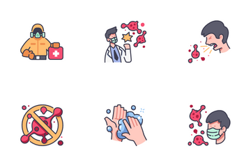 Medical And Virus Icon Pack