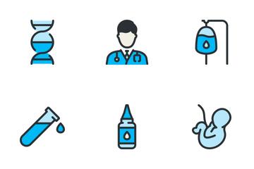 Medical Big Set - Blue Icon Pack