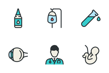 Medical Big Set - Color Icon Pack