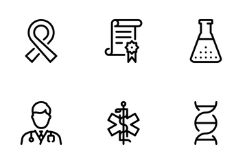 Medical Big Set - Mono Outline Icon Pack