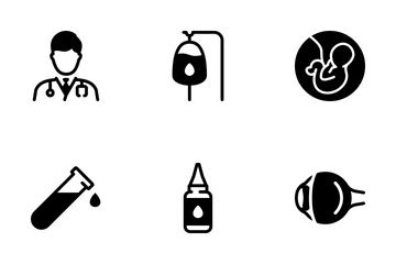 Medical Big Set - Mono Solid Icon Pack
