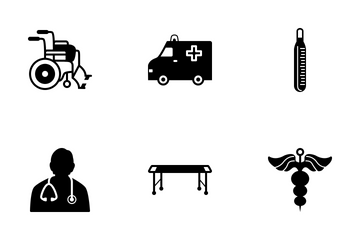 Medical Black Icon Icon Pack