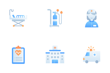 Medical Center Icon Pack