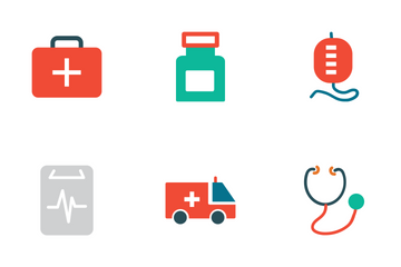 Medical Colored Icons Icon Pack