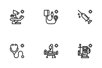 Medical Devices Icon Pack