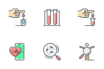 Medical Diagnostics Icon Pack