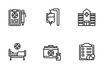 Medical Environment Icon Pack