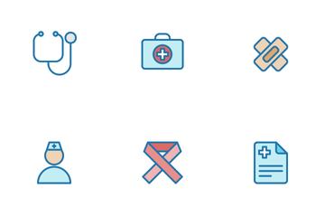 Medical Filled Line Icon Pack