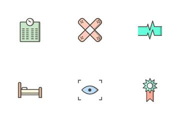 Medical Filled Outline Icon Pack