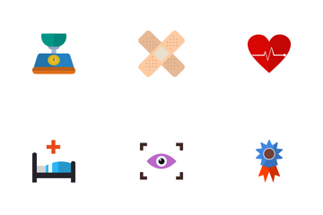 Medical Flat Icon Pack