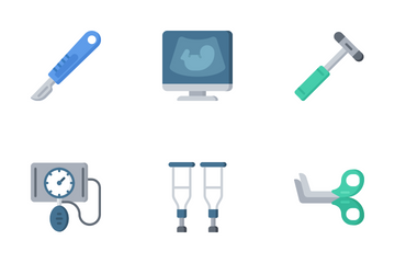 Medical - Flat Icon Pack