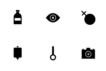 Medical Glyph Icon Pack