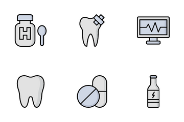 Medical Health And Diet Icon Pack