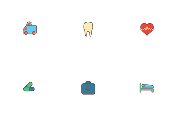 Medical / Health Icon - Colored Version Icon Pack