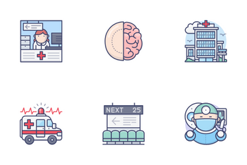 Medical & Healthcare Vol.1 Icon Pack