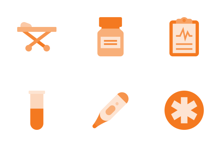 Medical & Healthcare Icon Pack