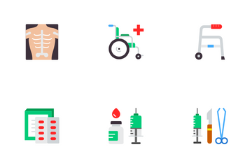 Medical & Hospital Icon Pack