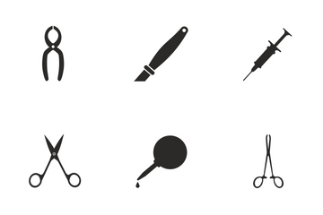 Medical Instruments  Icon Pack