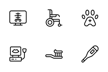 Medical Items Icon Pack
