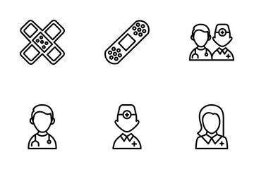 Medical Kit Icon Pack