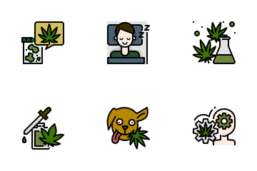 Medical Marijuana Icon Pack