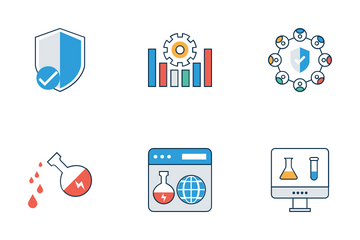 Medical Science And Technology Icon Pack