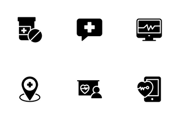 Medical Services Icon Pack
