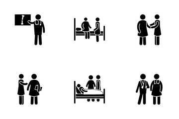 Medical Situations Icon Pack